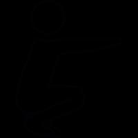 Flexible Man vector