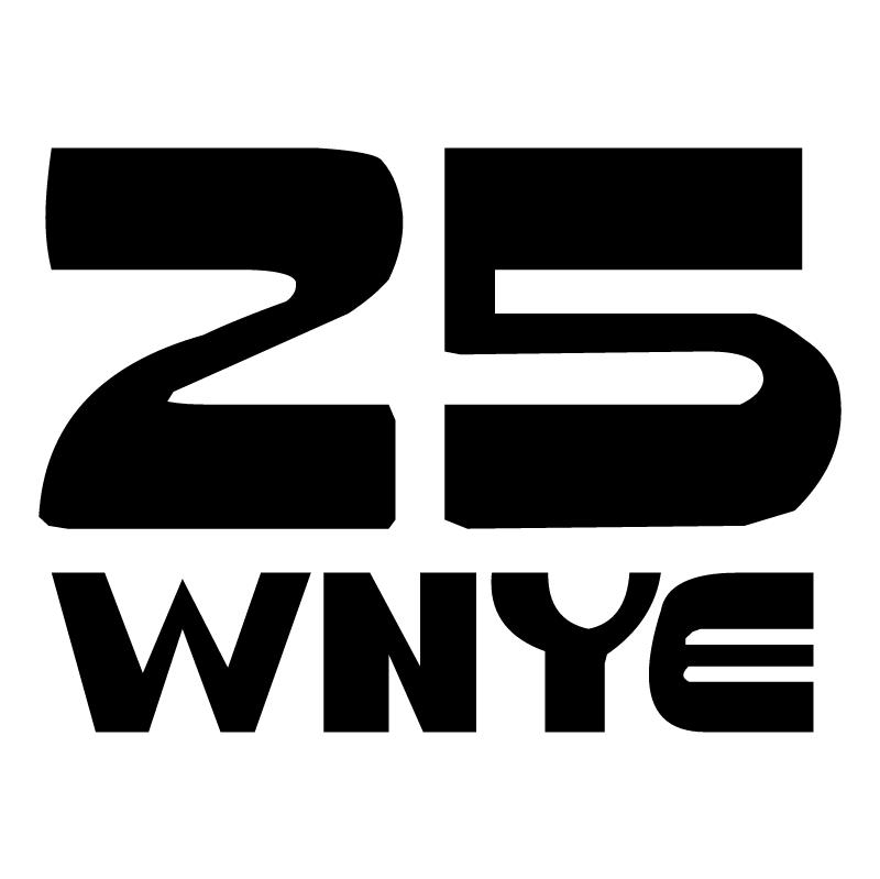 25 WNYE vector