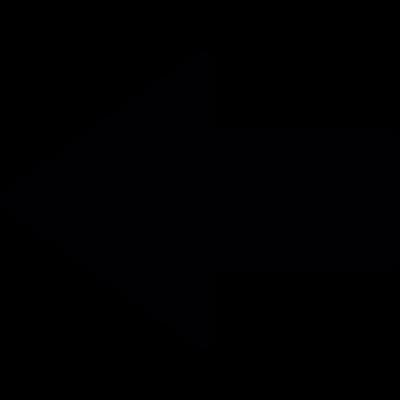 Go left arrow vector logo