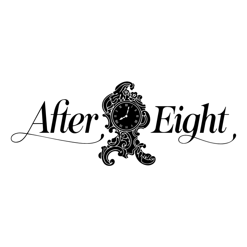 After Eight 63338 vector