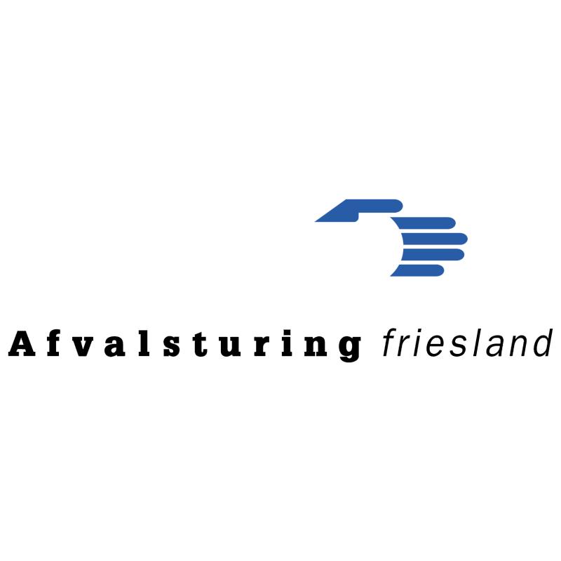 Afvalsturing Friesland vector