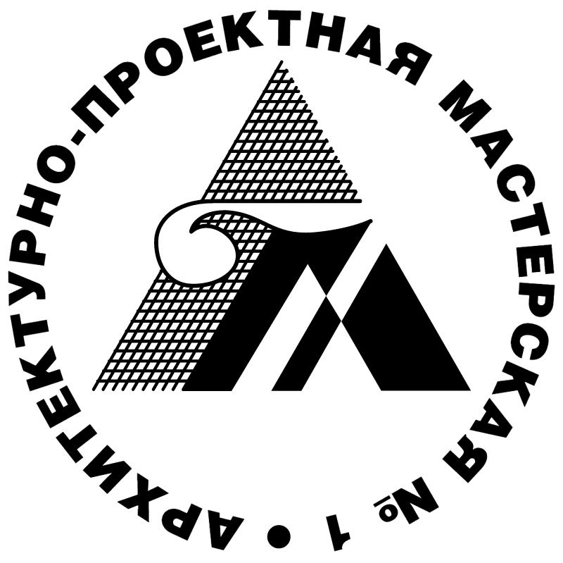 Arhitekturno proektnaya Masterskaya 1 669 vector