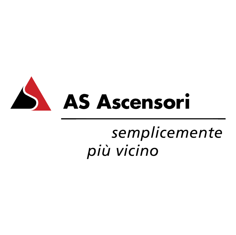 AS Ascensori 77103 vector
