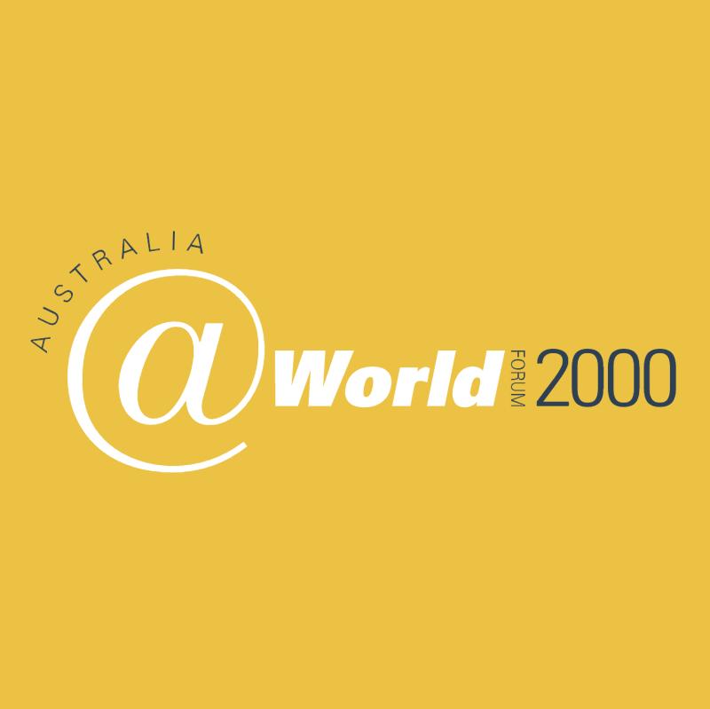 Australia World vector