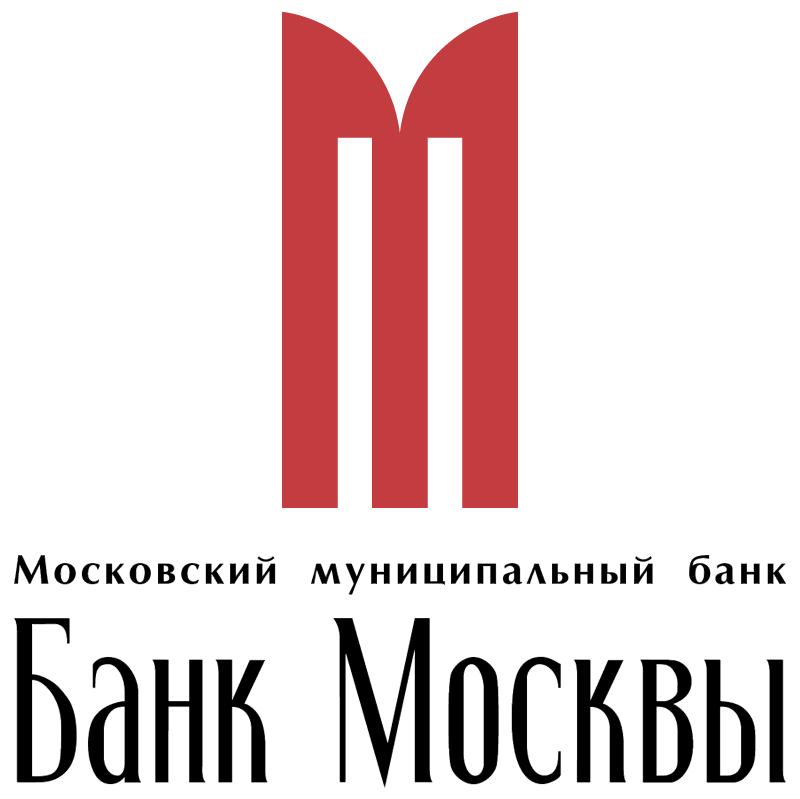 Bank Moscow 19433 vector