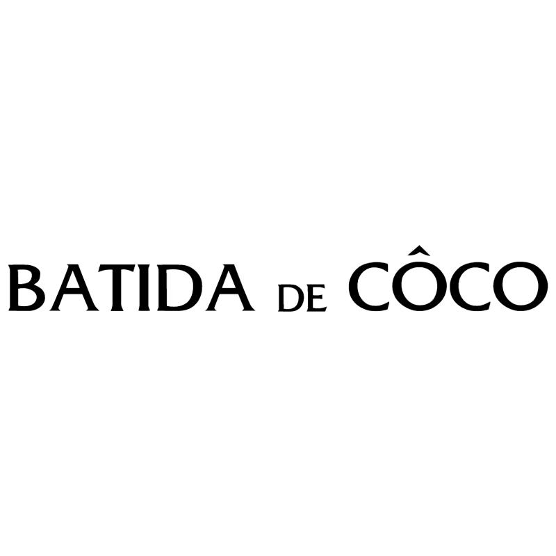 Batida de Coco vector