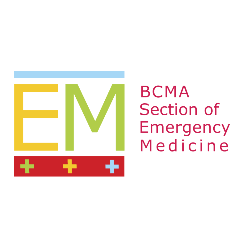 BCMA Section of Emergency Medicine vector