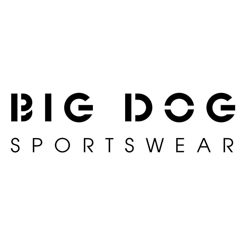 Big Dog vector