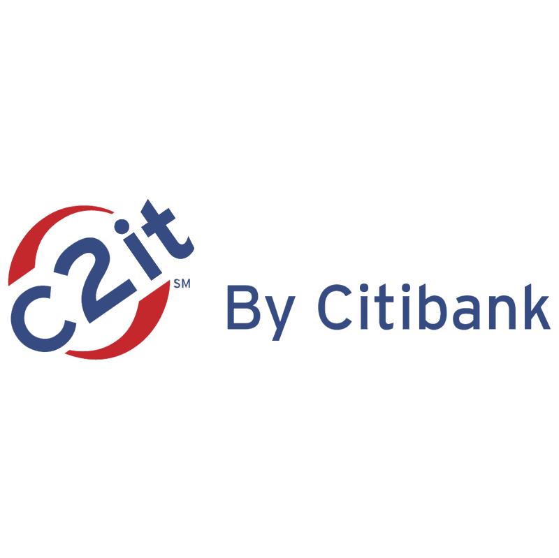 C2it by Citibank vector