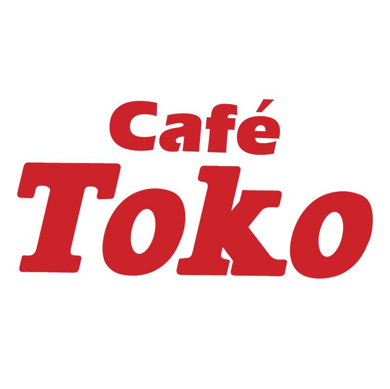 Cafe Toko vector