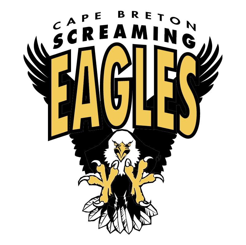 Cape Breton Screaming Eagles vector