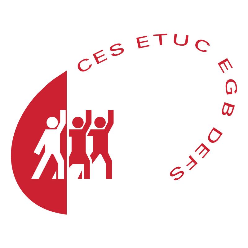 CES ETUC EGB DEFS vector