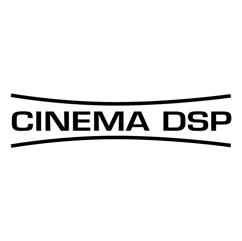 Cinema DSP vector logo