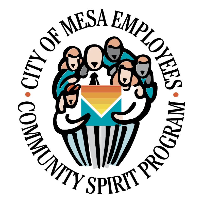 City of Mesa Employees vector