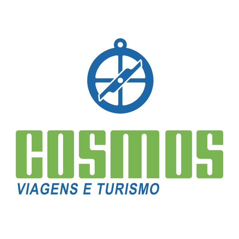 Cosmos Agencia de Viagens vector logo