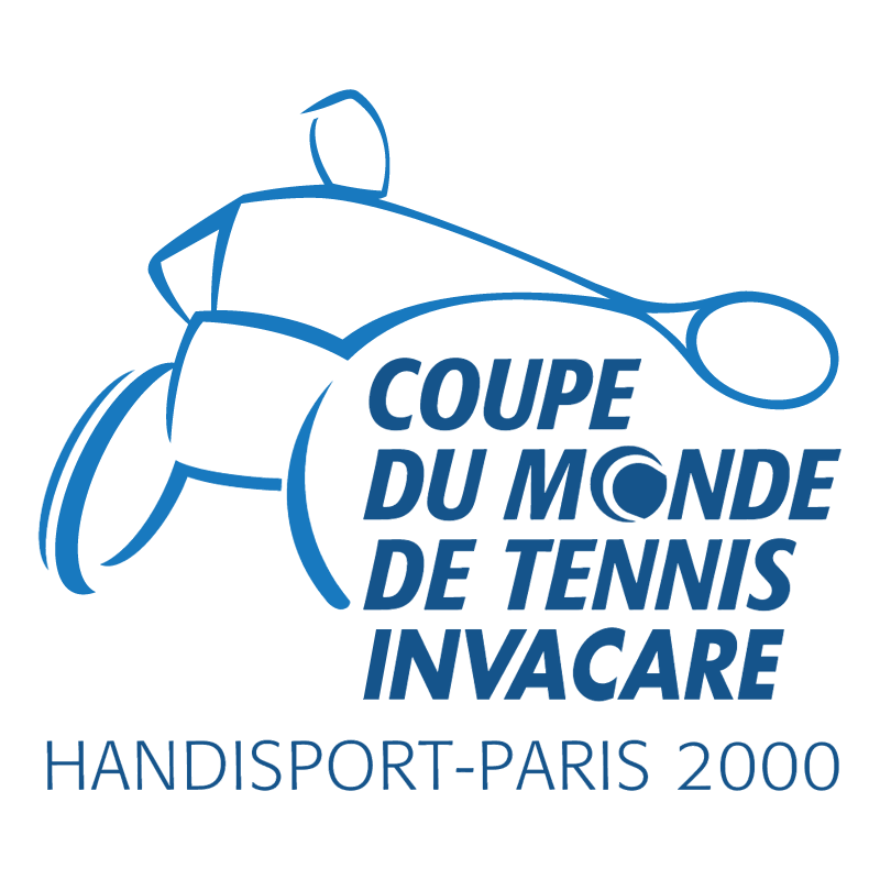 Coupe Du Monde De Tennis Invacare vector