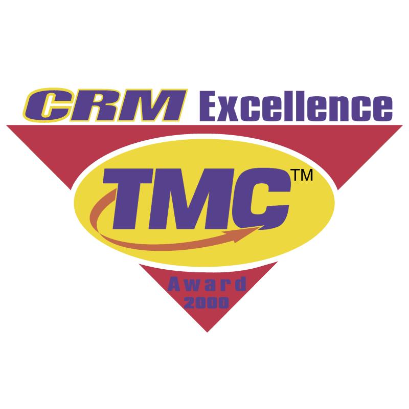 CRM Excellence Award 2000 vector logo