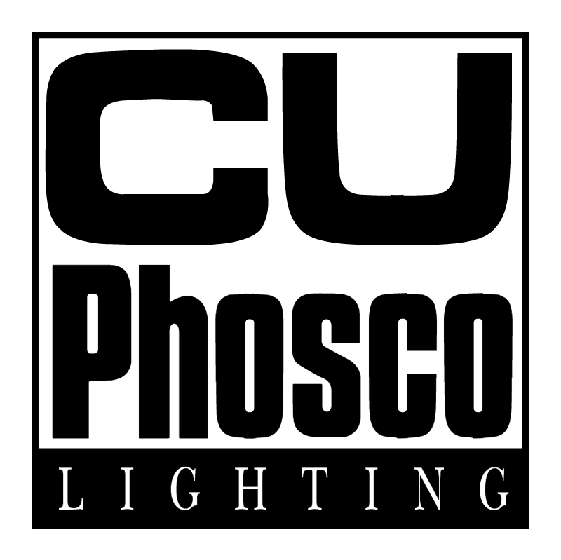 CU Phosco Lighting vector logo