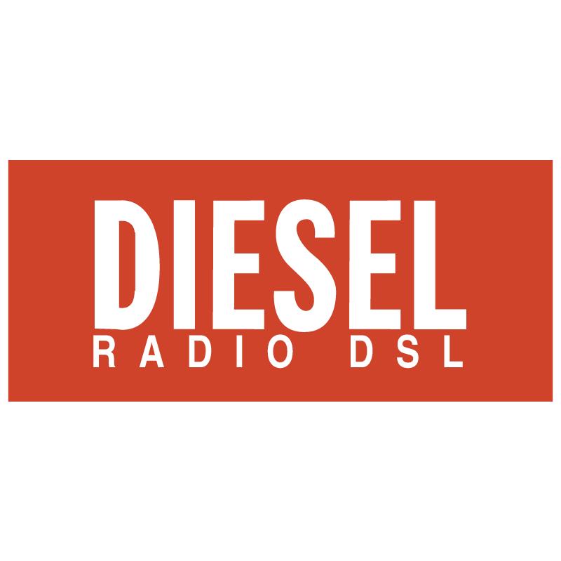 Diesel Radio DSL vector