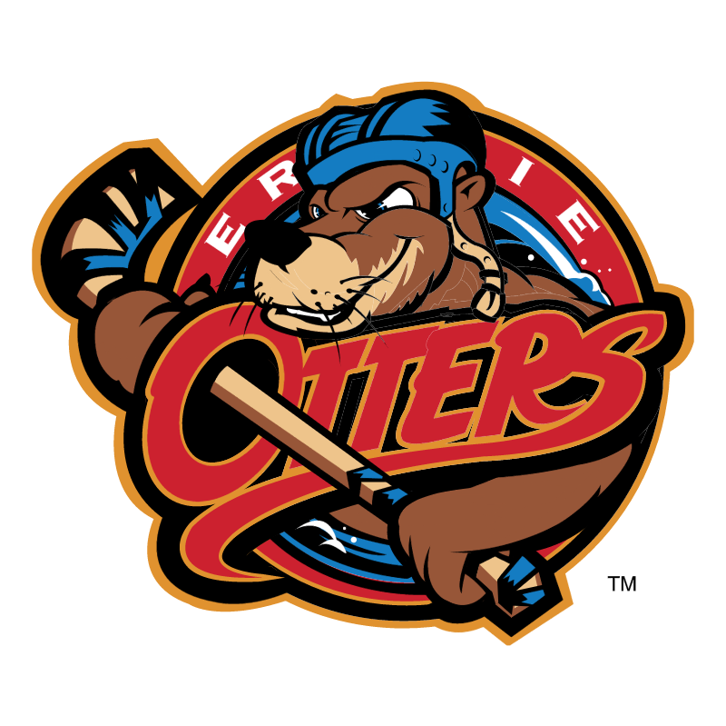 Erie Otters vector
