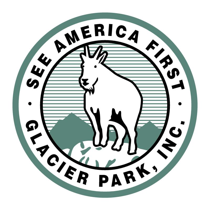 Glacier Park vector