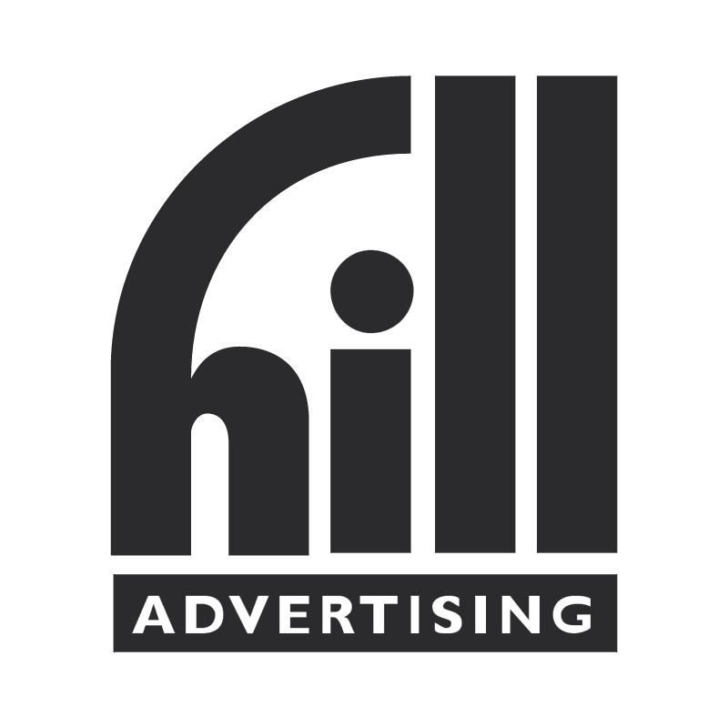 Hill Advertising vector