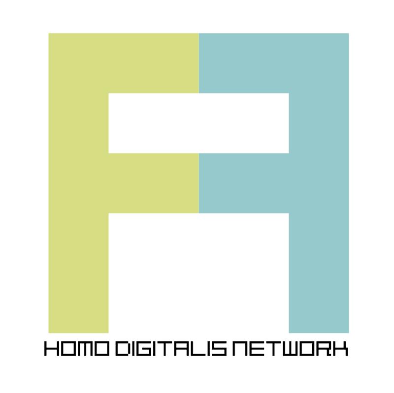 homo digitalis network vector