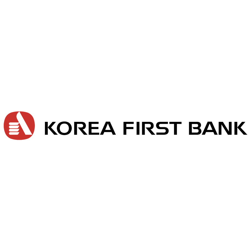 Korea First Bank vector