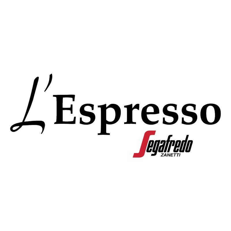 L'Espresso Caffe vector