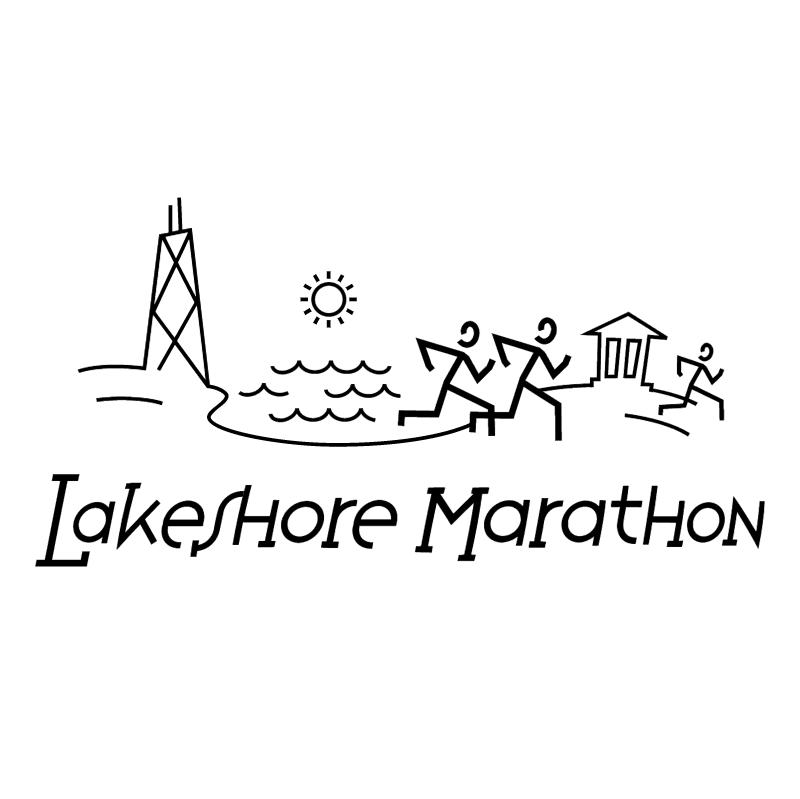 Lakeshore Marathon vector