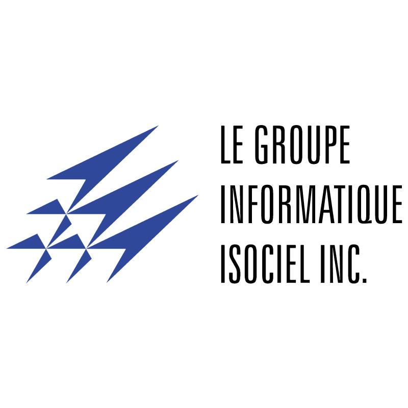 Le Groupe Informatique Isociel vector