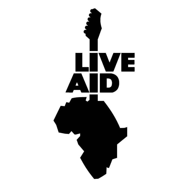 Live Aid vector logo