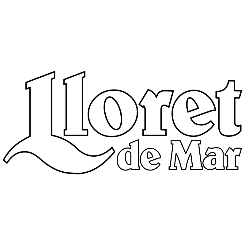 Lloret de Mar vector