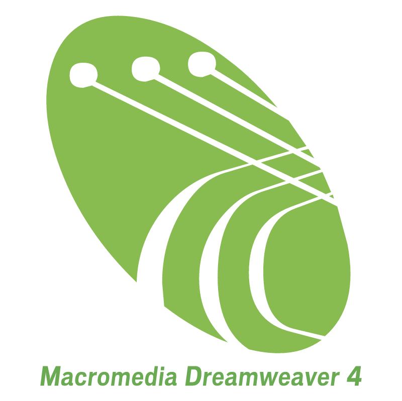 Macromedia Dreamweaver 4 vector