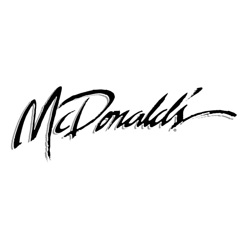 McDonald's vector logo