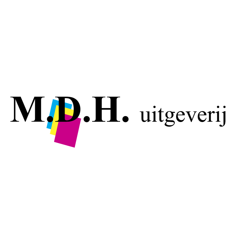 MDH Uitgeverij vector logo