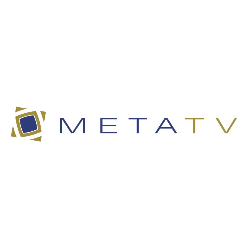 MetaTV vector logo