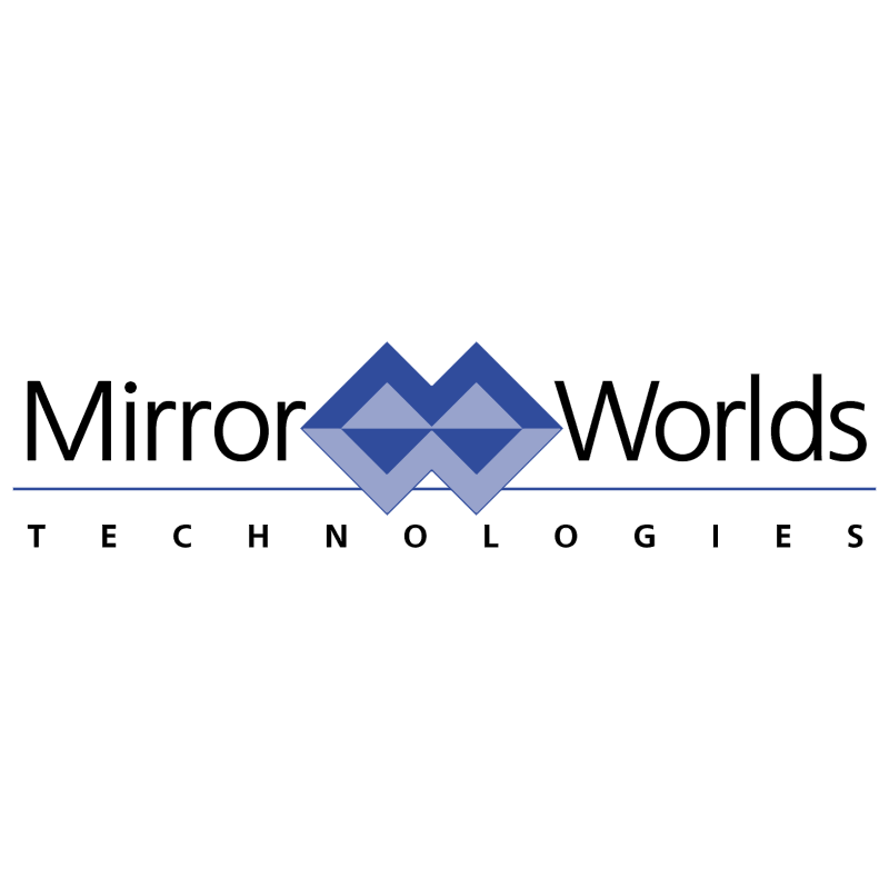 Mirror Worlds vector logo