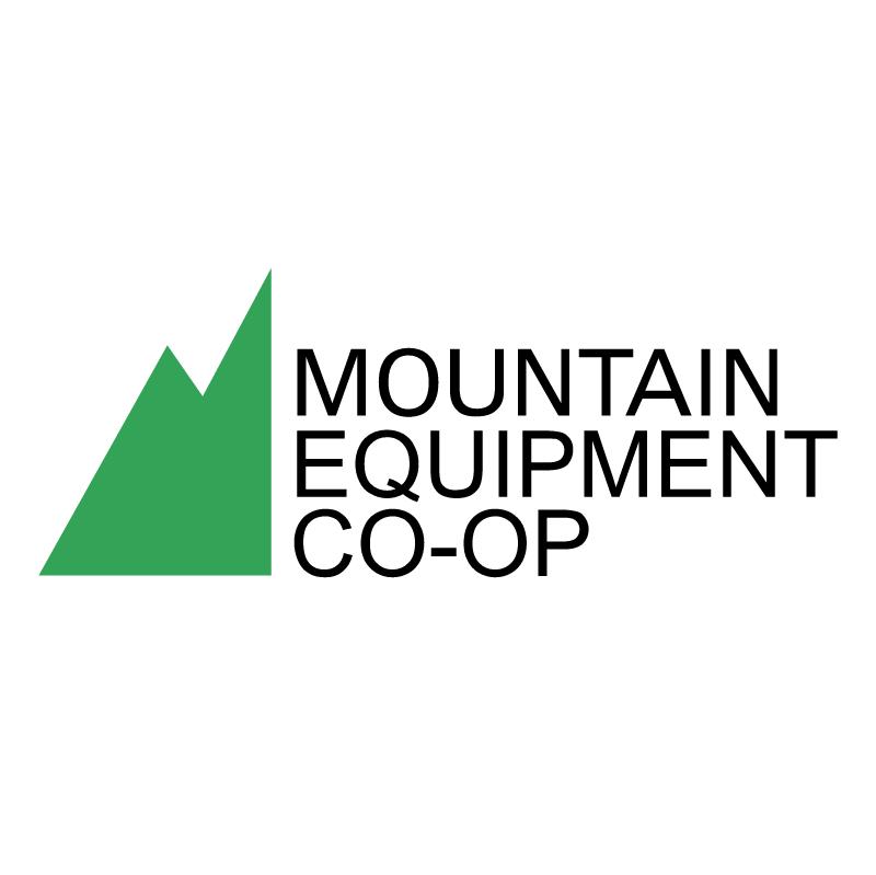 Mountain Equipment Co op vector