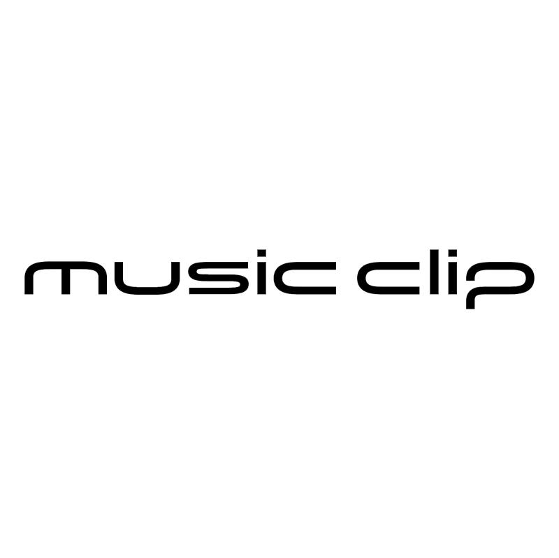 Music Clip vector