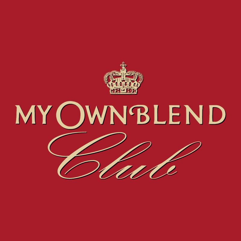My Own Blend Club vector logo