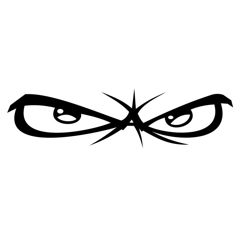 No Fear Eyes vector