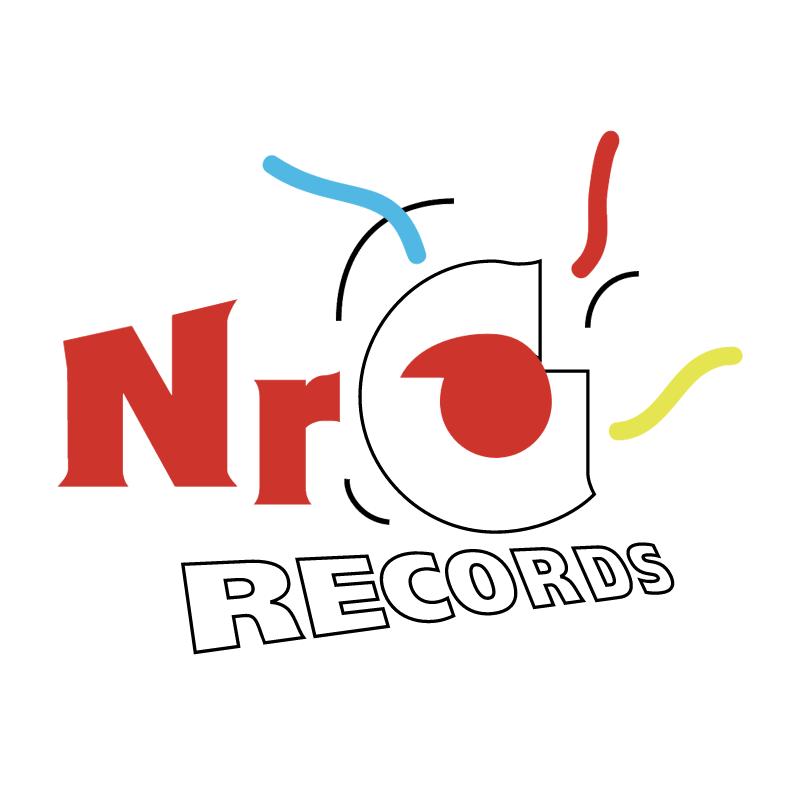 NRG Records vector logo