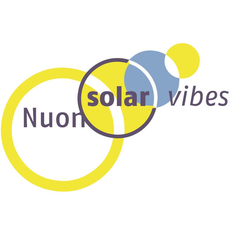 Nuon Solar Vibes vector logo
