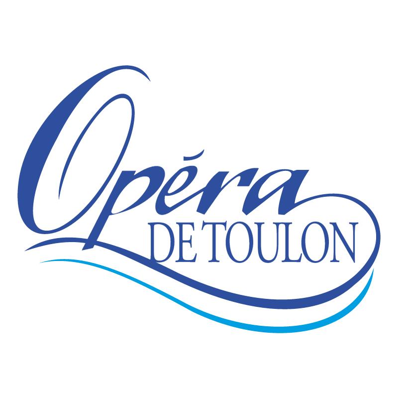 Opera De Toulon vector