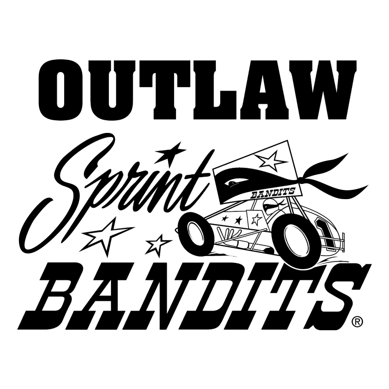 Outlaw Sprint Bandits vector