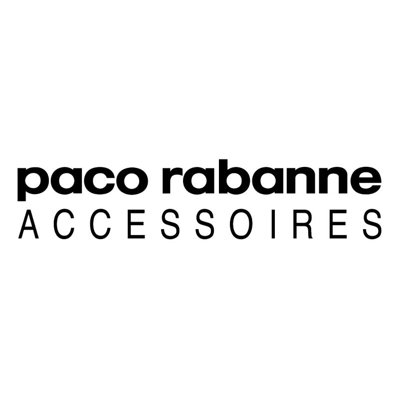 Paco Rabanne Accessoires vector