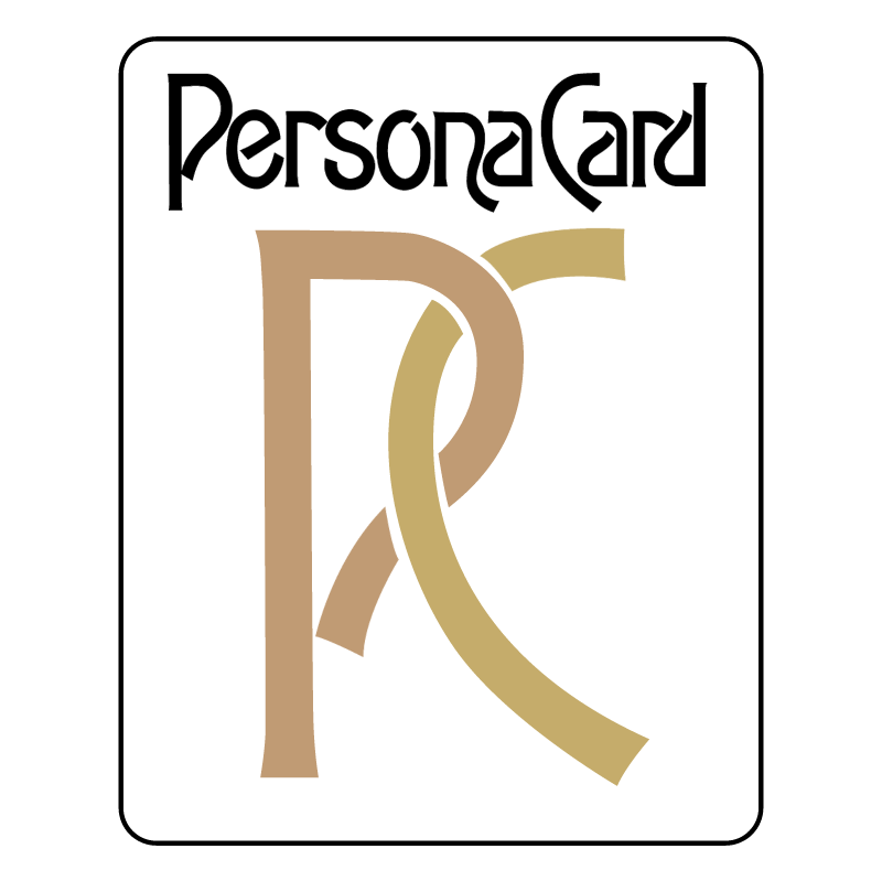 Persona Card vector