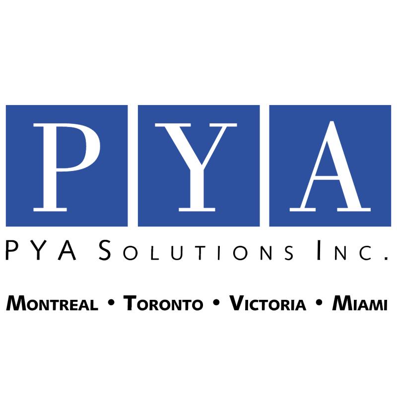 PYA Solutions vector