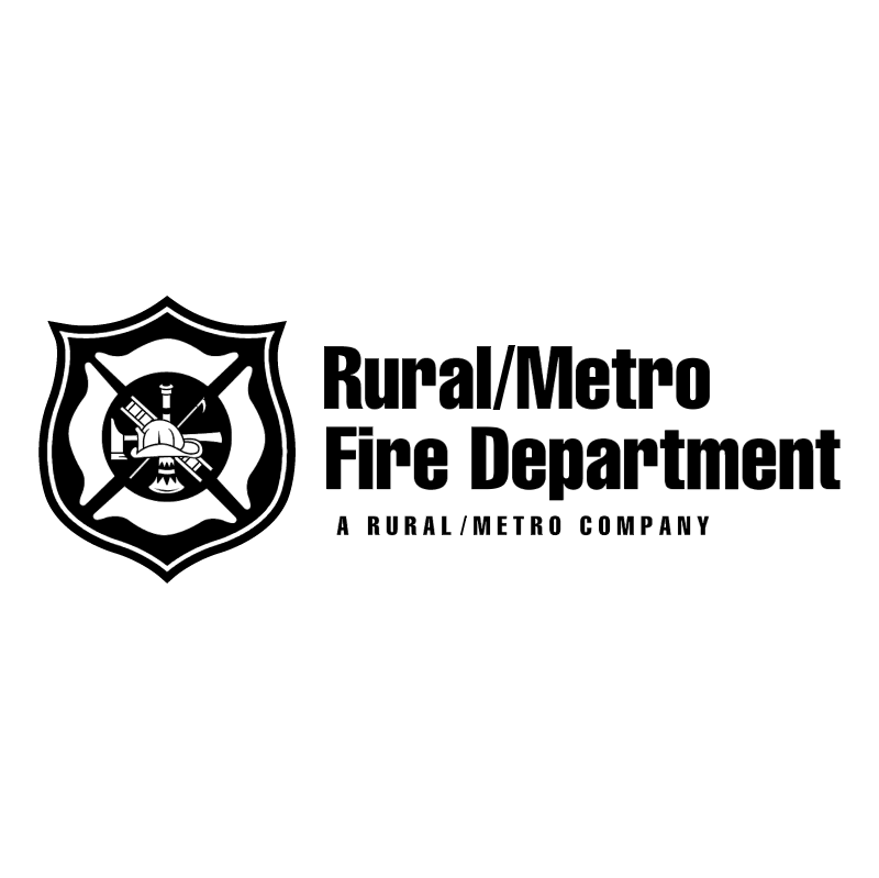 Rural Metro Fire Department vector